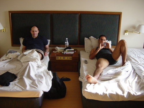 Adi & Andy in bed