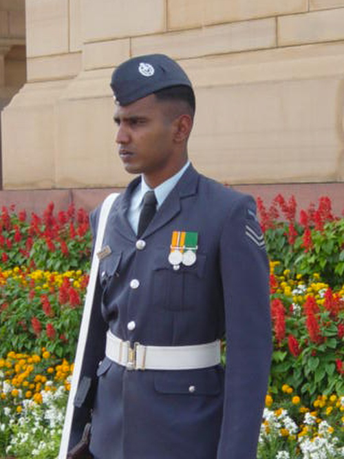 India Gate Guard