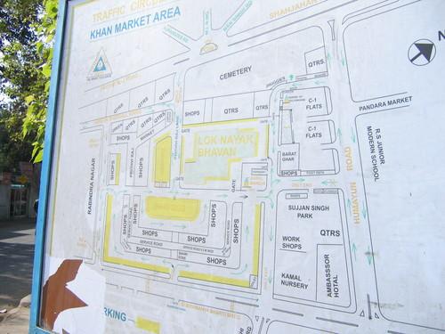 Khan Market Map