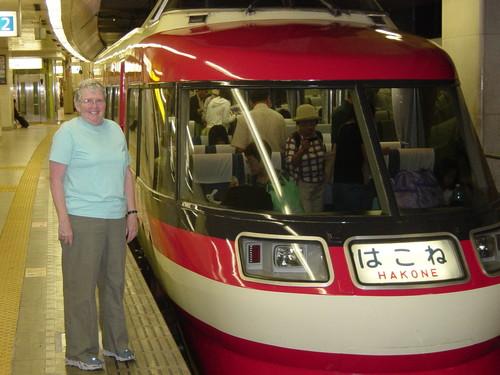Shinjuku to Hakone