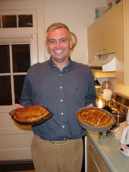 Joel and his tarte tartin