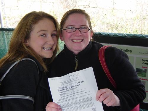 Suz & Sarah at the zoo
