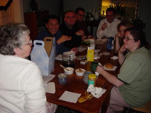 Breakfast Thanksgiving Morning