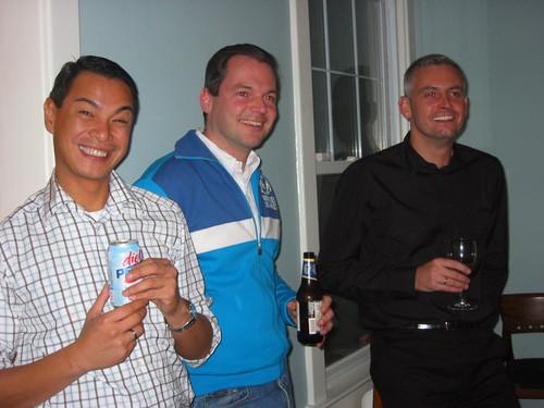 Miguel, Philippe & Joel